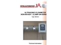 Model IS210-S - Stationary Flowmete Brochure