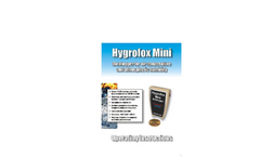 Hygrofox Mini - Air Quality Analysis Data Logger Systems  Brochure