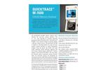 QuickTrace - Model M-7600 - Cold Vapor Atomic Absorption Mercury Analyzer Brochure