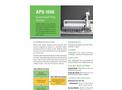 Teledyne CETAC - Model APS-1650 - Automated Preparation Station - Brochure