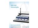 ASX-560 Autosampler