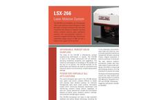 CETAC - Model LSX-266 - Robust Laser Ablation System Brochure