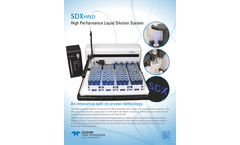 SDXHPLD High Performance Liquid Dilution System - Brochure