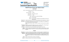 Teledyne CETAC - Model Analyte Excite+ - Homogenized Excimer Laser Ablation System - Specification