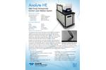 Analyte HE High Energy Homogenized Excimer Laser Ablation System - Flyer
