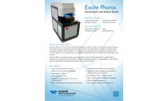 Teledyne CETAC - Model Excite Pharos - Femtosecond Laser Ablation System - Brochure