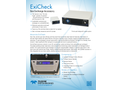 Teledyne CETAC - Model ExiCheck - Gas Exchange Accessory - Brochure