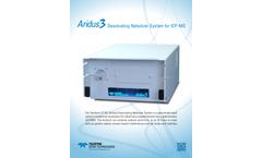 Aridus3 - Desolvating Nebulizer System for ICP-MS - Brochure