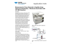 Measurement of Trace Elements in Naphtha Using Ultrasonic Nebulization / Membrane Desolvation with ICP-AES Detection - Application Note
