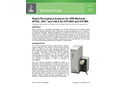 Rapid-Throughput Analysis for EPA Methods 6010C, 200.7 and 200.8 by ICP-AES and ICP-MS - Technical Note