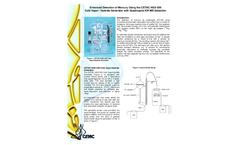 Enhanced Detection of Mercury Using the CETAC HGX-200 Cold Vapor / Hydride Generator with Quadrupole ICP-MS Detection - Application Note