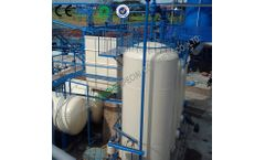 Model 100TPD - Waste Engine Oil to Base Oil Refining System