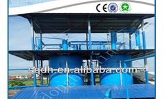 Model 50TPD - Waste Oil Recycling Machine