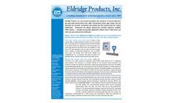 EPI - Model Series 8000-8100MP - Inline Remote Thermal Mass Flow Meter - Brochure
