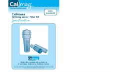 CalHouse - Model S - Drinking Water Filter Kit Brochure