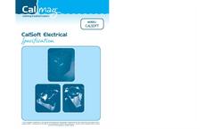 CalSoft - Model E - Electrical Water Softener Brochure