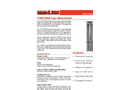 Shand & Jurs Biogas 97400 Well-Type Manometer - Datasheet