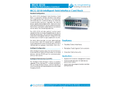 L&J Engineering - Model MCG 3210i - Intelligent Field Interface Card Rack - Datasheet