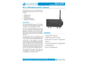 L&J Engineering MCG 5200 - WirelessHART Gateway - Datasheet