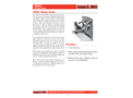 Shand & Jurs 95661 Swing Joints - Datasheet