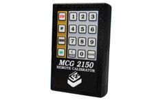 L&J Engineering - Model MCG 2150 - Remote Calibrator