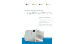 Model 11B - Bench Top Steam Sterilizers – Brochure