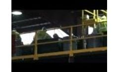 Proterra Solutions MSW Recycling System Sorting Line Video