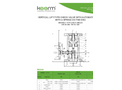 Model KM 9903.1 117 - Vertical Lift Type Check Valves with Automatic Relief  Brochure