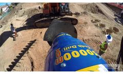Earth Drills to suit machines from 750kg to 45T - Video