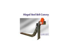 Jorgensen - 1.5 inch Pitch Hinged Steel Belt Conveyors -
