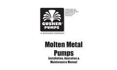 Molten Metal - Brochure