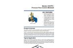 Singer Valve 106/206-PFC Pressure Flow Control (Modulation) Valve - Product Guide