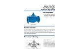 Model 106-PG / S106-PG - Full Port, Single Chamber, Hydraulically Operated Valv Brochure