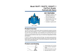 Model 106-PT / 106-PTC / S106-PT / S106-PTC - Full Port, Double Chamber Hydraulically Operated Valve Brochure
