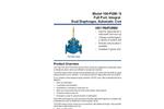 Model 106-PGM / S106-PGM - Full Port, Integral Back-Up, Dual Diaphragm, Automatic Control Valve Brochure