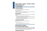 Model 106-IDC / 206-IDC / 106-NYM / 206-NYM - Internal Drop Check No Yellow Metal Brochure