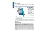 Model X156 - Linear Inductive Valve Position Transmitter Brochure