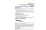 Model OX - Linear Inductive Valve Position Transmitter Oxy-Nitride Stem Brochure