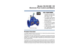 Singer Valve 106/206-2SC-MV Electronic Flow Control and Metering System - Product Guide