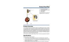 Model 43 Rotary Float Pilot (On/Off) Datasheet