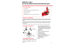 Singer Valve 106-A-Type 4 One-Way Altitude Control Valve with Differential Control - Product Guide