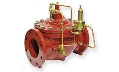 Singer Valve - Model 106-RPS-8700 - UL / FM Pressure Relief Valve