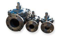Singer Valve - Model 106-PG - Stainless Steel Full Port, Single Chamber, Hydraulically Operated Valve