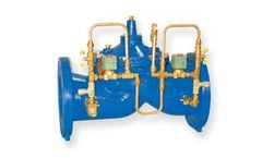 Singer Valve - Model 106/206-2SC-PCO - Dual Solenoid Control for Positioning and SCADA Controls