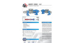 Liberty - Model LL2 Series - Polymer Feed and Chemical Injection Pump Brochure