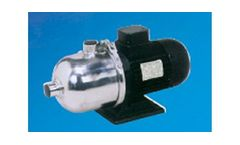 Model PM Series - Horizontal Multistage Stainless Steel Pumps