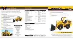 Waldon - Model 8500C Series - Compact Loader Brochure