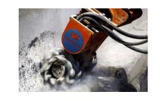 Raptor - Universal Hydraulic Cutter Head for Hydraulic Excavators