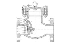 CVB - Model SWC-003 - Cast Steel Swing Check Valves