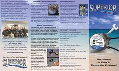 Superior - Model Series CLM-1 - Close-Coupled Gas Chlorinator Brochure